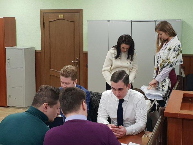 На заседании Фрунзенского районного суд / Фото: Сергей Сатановский