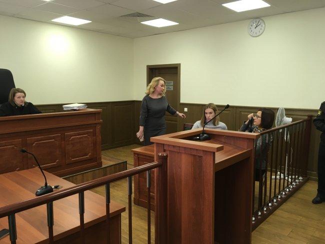 Заседание в Невском районном суде / Фото: Максим Леонов