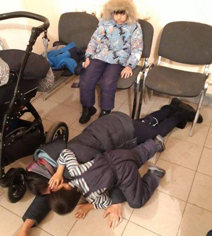 Семья Хуссайнхиль в миграционной службе