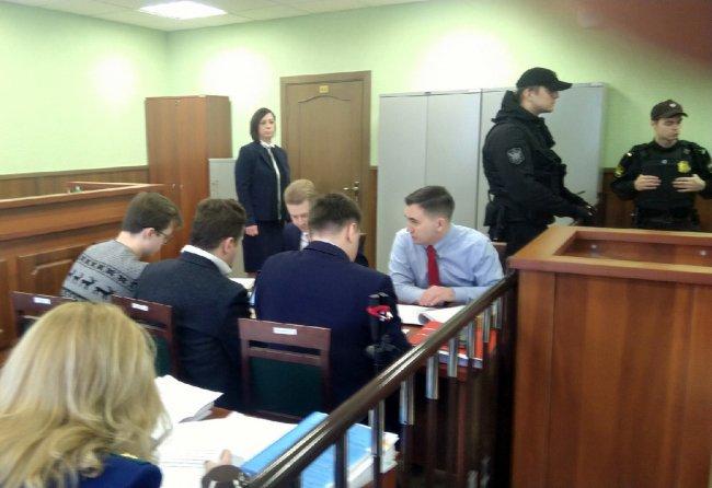 На заседании Фрунзенского районного суда Петербурга / Фото: Серафим Романов