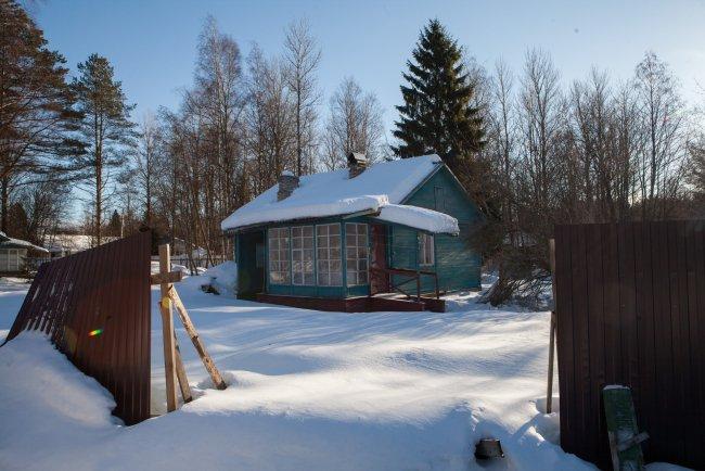 Один из домов на участке в Солнечном / Фото: Елена Лукьянова