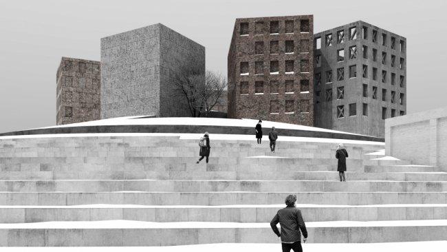 Проект музея Блокады студии Никиты Явейна / Фото: sobaka.ru