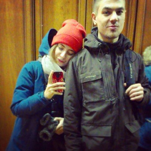 Дмитрий Пчелинцев с женой Ангелиной