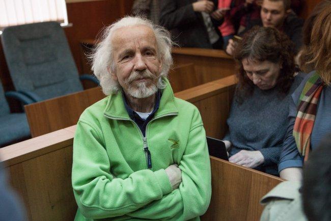 Отец Юлия Бояршинова Николай в зале суда / Фото: Елена Лукьянова, «Новая в Петербурге»
