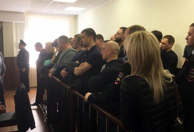 Зрители на заседании суда 15 апреля. Фото: Максим Леонов / «Новая в Петербурге»