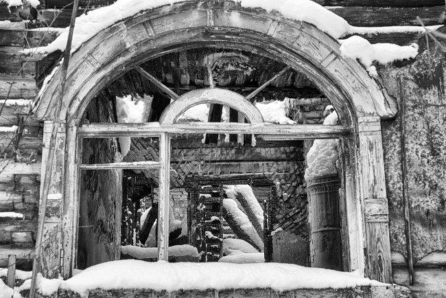 Дача Леви после пожара. Фото Александра Браво