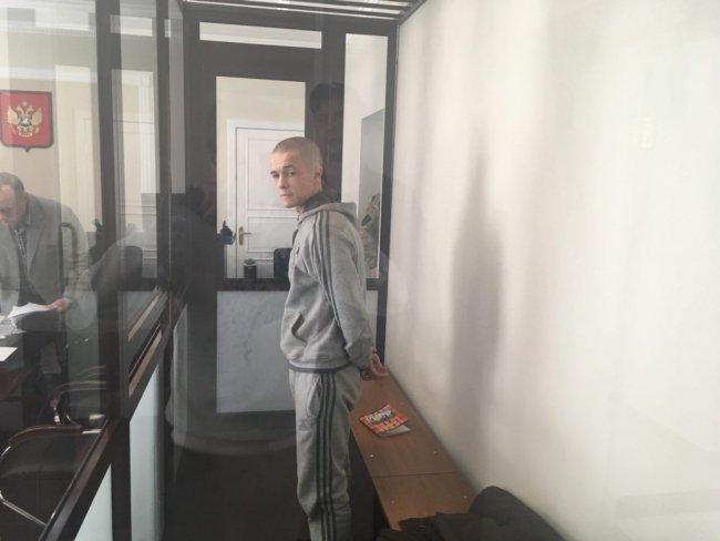 Илья Шакурский на заседании суда. Фото: antifa.fm