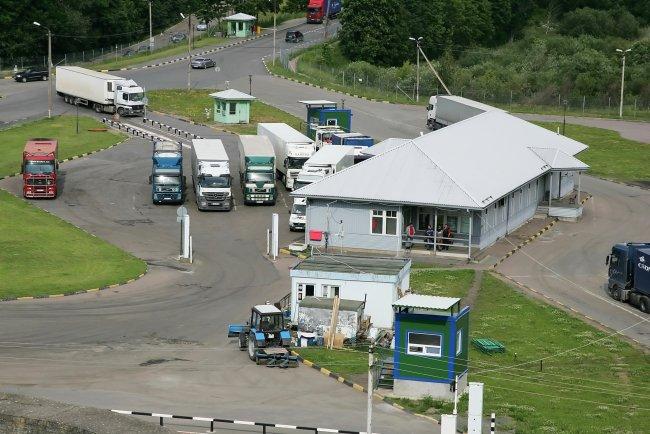 Пограничный пункт на российско-эстонской границе. Фото ИТАР-ТАСС / Евгений Асмолов