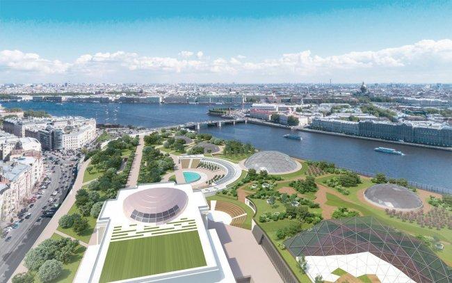 Проект будущего парка. Фото: «Петербургский дневник»