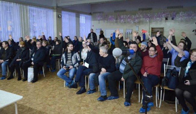 12 марта в Токсово прошли слушания по установлению публичного сервитута к пляжам западного берега озера Лассылампи / Фото: Ирина Андрианова