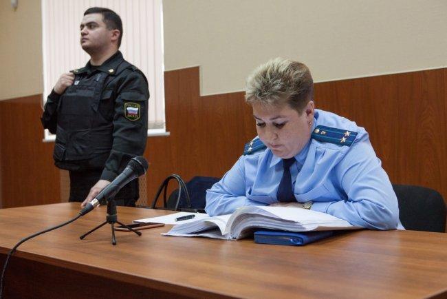 Представитель государственного обвинения / Фото: Елена Лукьянова, «Новая в Петербурге»