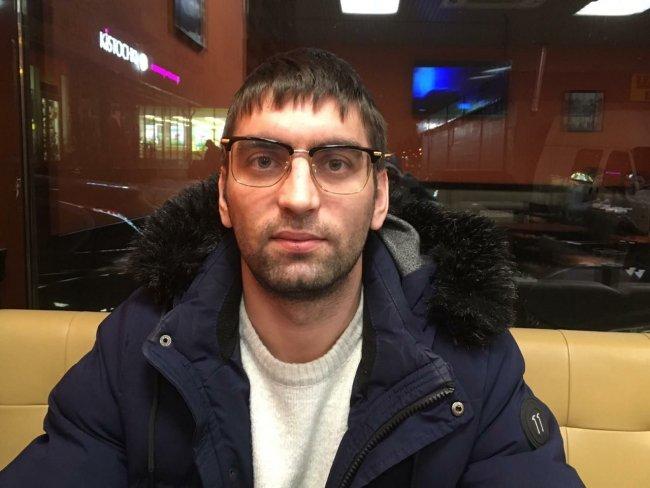 Пострадавший Алексей Шепелин / Фото: «Новая в Петербурге»