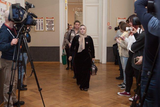 Перед началом заседания в Ленинградском окружном военном суде / Фото: Елена Лукьянова