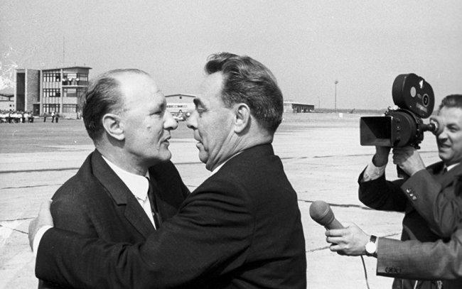 Янош Кадар и Леонид Брежнев (1972). Фото: REUTERS
