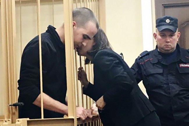 Юлий Бояршинов в суде. Фото: ovdinfo.org