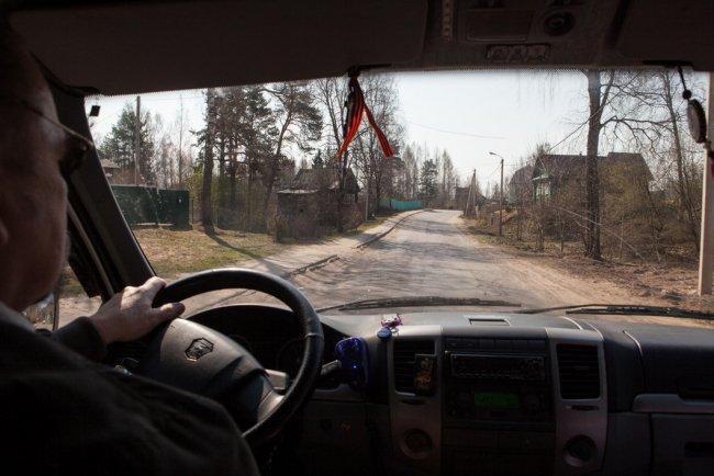 Бригада «Скорой помощи» в дороге. Фото: Елена Лукьянова / «Новая»