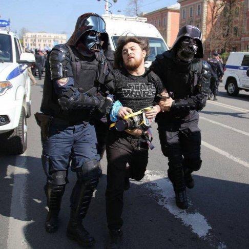 Задержание Георгия Маркова. Фото: facebook.com