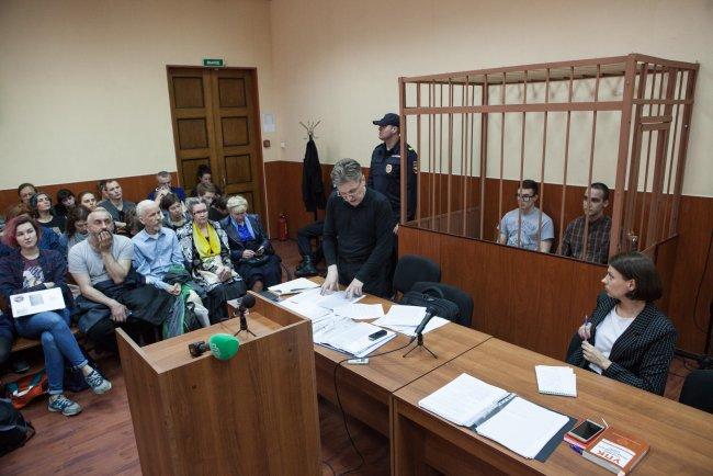 Заседание по делу «Сети» в Петербурге. Фото: Елена Лукьянова / «Новая в Петербурге»