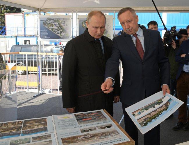 Владимир Путин и Александр Беглов. Фото: gov.spb.ru