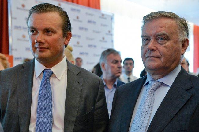 Андрей и Владимир Якунины. Фото: РИА Новости