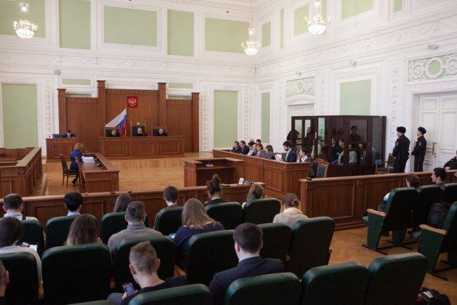 Заседание по делу о теракте в петербургском метро. Фото: Елена Лукьянова