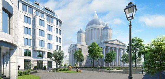 Наполеоновские планы с видом на клинику Кащенко