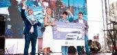 Новый Volkswagen Polo от «Аксель-Сити» разыграли в «Охта Молл»