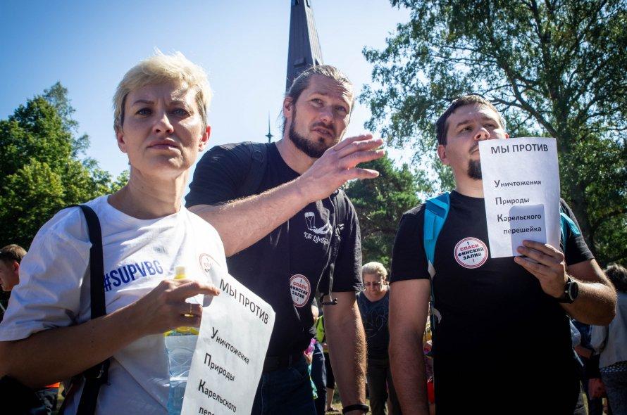 В Приморске выступили против порта