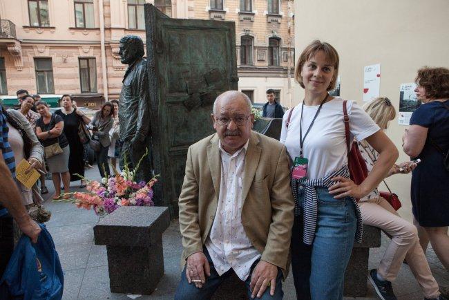 Организатор фестиваля «День Д» Лев Лурье. Фото: Елена Лукьянова / «Новая в Петербурге»