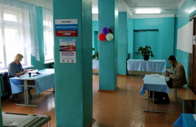 Избирательный участок в г. Невель Псковской области. Фото: Денис Коротков / «Новая»