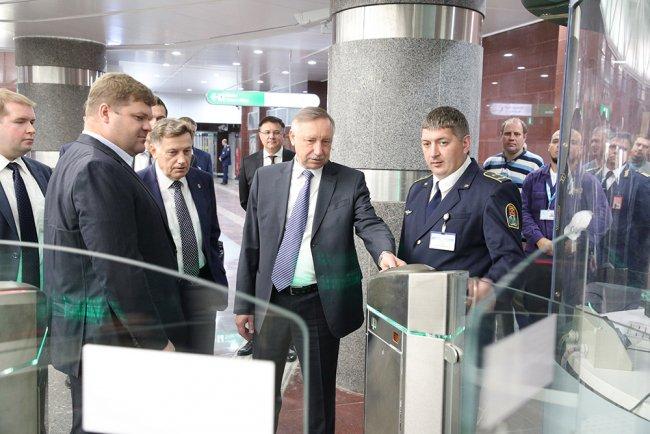 Смотр новых станций Фрунзенского радиуса. Фото: gov.spb.ru