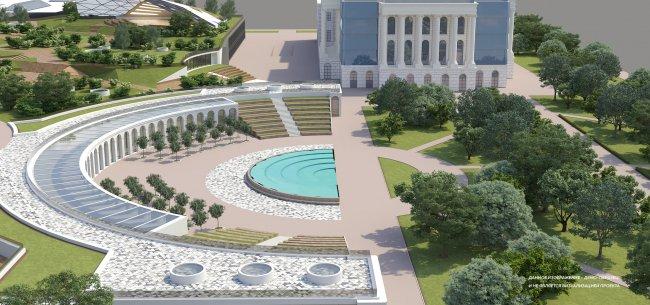 Визуализация проекта будущего парка. Фото: art-park.spb.ru
