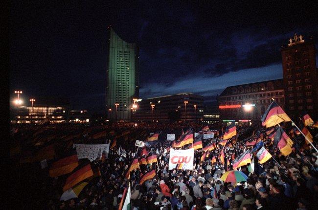 Акция протеста в ГДР. Фото: РИА Новости