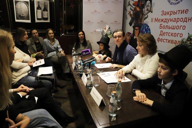 Пресс-конференция Большого детского фестиваля в Петербурге. Фото: Александра Лимарева / «Новая»
