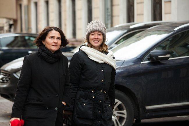 Анна Абрашина и Мультяшка. Фото: Елена Лукьянова / «Новая в Петербурге»
