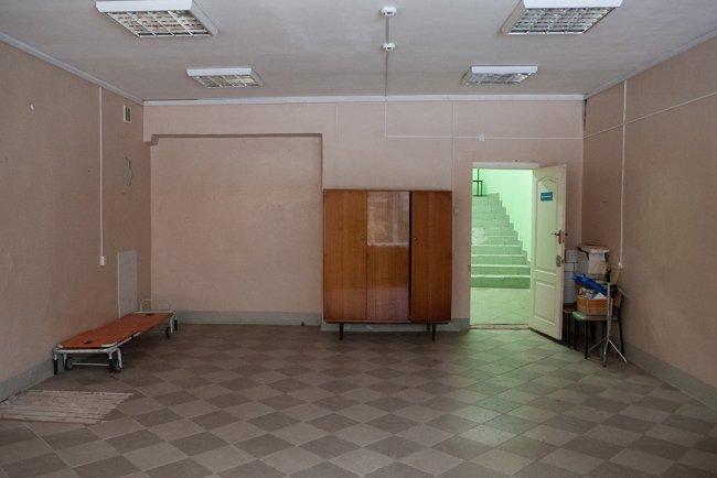 Мошенская ЦРБ внутри. Фото: Елена Лукьянова / «Новая в Петербурге»