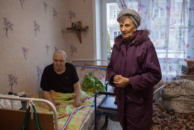 Иван и Валентина Бредусовы. Фото: Елена Лукьянова / «Новая в Петербурге»