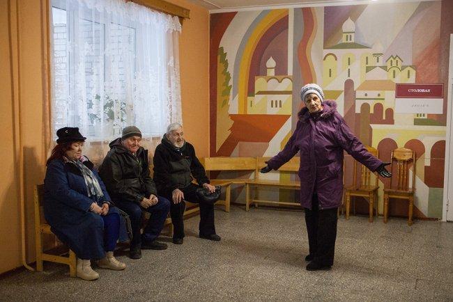 Старики замерзли и вернулись в Дом ветеранов. Фото: Елена Лукьянова / «Новая в Петербурге»