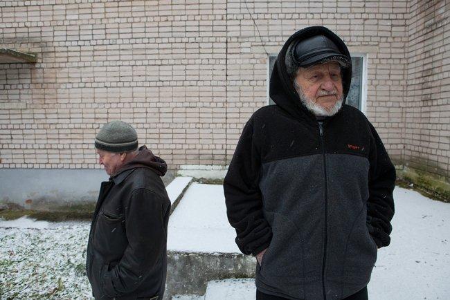 Подопечные Новгородского дома ветеранов. Фото: Елена Лукьянова / «Новая в Петербурге»