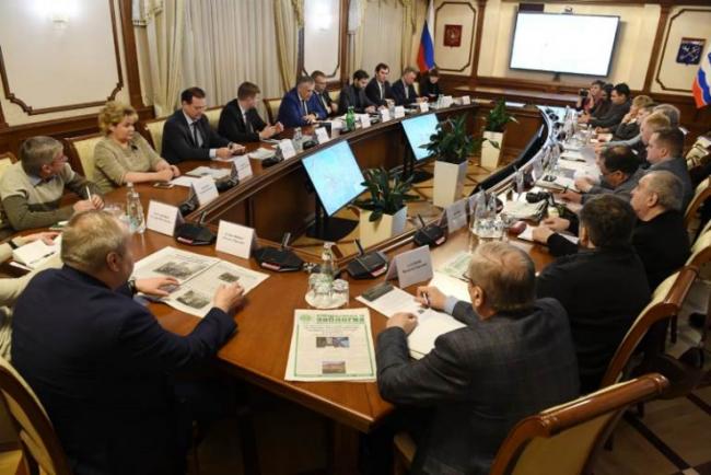 Экологический совет при губернаторе Ленобласти. Фото: lenobl.ru