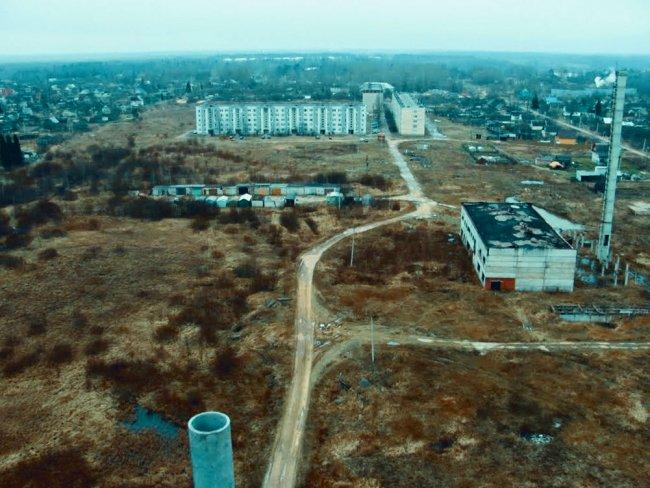 Торковичи. Дорога к железнодорожной станции. Фото: mapio.net