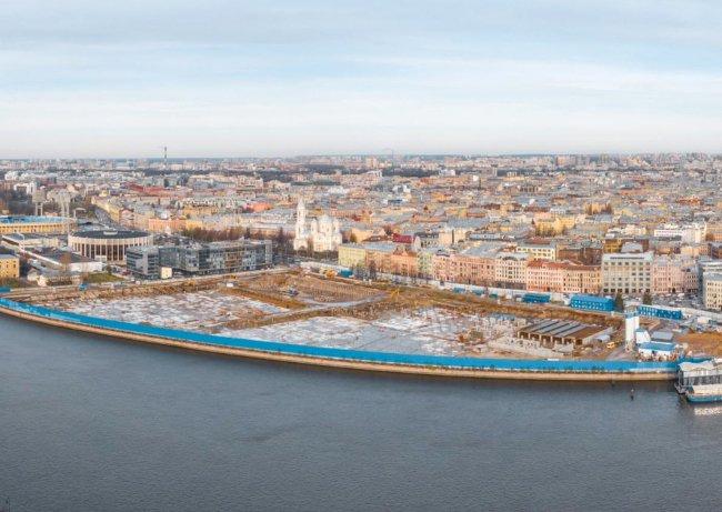 Территория будущего «озеленения». Фото: park-spb.ru