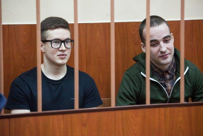 Виктор Филинков и Юлиан Бояршинов. Фото: Елена Лукьянова / «Новая в Петербурге»