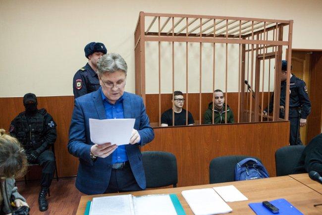 Заседание суда по делу «Сети» в Петербурге. Фото: Елена Лукьянова, «Новая газета»