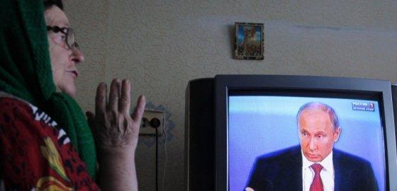 Если вы за Путина — кивните телевизору