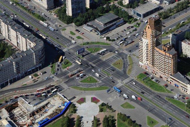 Гамбургская площадь во Фрунзенском районе Санкт-Петербурга. Фото: peterburg2.ru