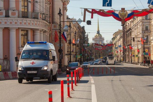 На Невском проспекте. Фото: Елена Лукьянова / «Новая газета»
