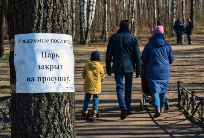 Сквер в Выборгском районе Санкт-Петербурга. Фото: РИА Новости