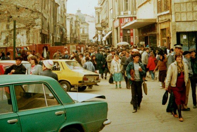 Бухарест в 1989 году. Фото: André Pipa / Flickr.com