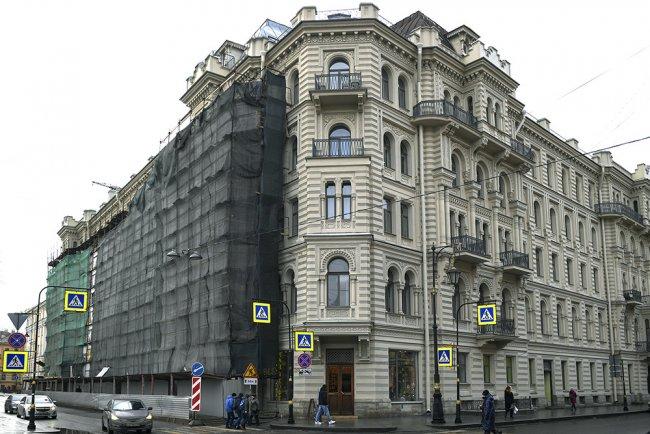 Дом Мурузи на Литейном проспекте, 24, где располагается частный музей Бродского. Фото: Александр Гальперин / РИА Новости